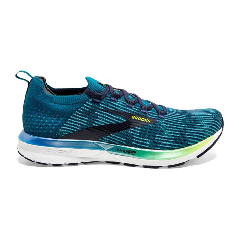 Mens Brooks Ricochet 2, Blue