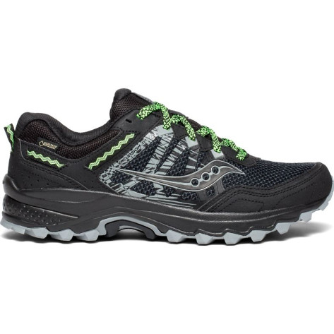 Mens Saucony Excursion 12 Goretex, Black