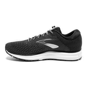 Mens Brooks Revel 2, Black/Grey/Grey