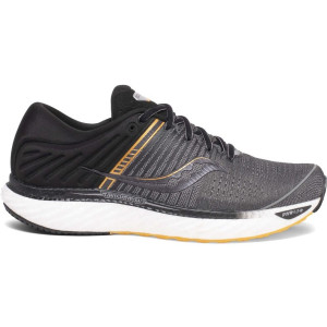 Mens Saucony Triumph 17, Grey/Black